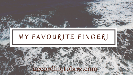 my favourite finger